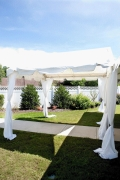 Where to rent 9 X 3 MARQUEE, WHITE in Cary NC