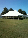 Where to rent 40 X 60   POLE TENT, WHITE-TT in Cary NC
