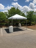 Where to rent 10 X 10 FRAME, WHITE TOP in Cary NC