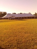 Where to rent 40 X 120 POLE TENT, WHITE-TT in Cary NC